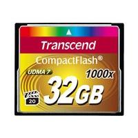 Transcend Ultimate - flash memory card - 32 GB - CompactFlash