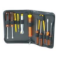 Manhattan Basic Computer Tool Kit, Computer Tool Kit, 13 pieces - computer repair tool set