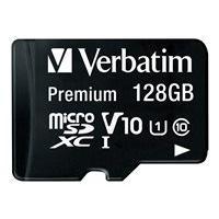 Verbatim Premium - flash memory card - 128 GB - microSDXC UHS-I
