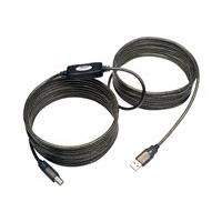 Tripp Lite 25ft USB 2.0 Hi-Speed Active Repeater Cable USB-A to USB-B M/M 25' - USB cable - 7.62 m