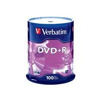 Verbatim - DVD+R x 100 - 4.7 GB - storage media