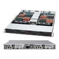 Supermicro SC808 T-780B - rack-mountable - 1U - up to 2 blades  RM