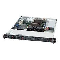 Supermicro SC111 TQ-600CB - rack-mountable - 1U - extended ATX  RM