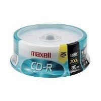 Maxell - CD-R x 25 - 700 Mo - support de stockage