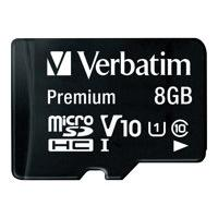 Verbatim - carte mémoire flash - 8 Go - micro SDHC