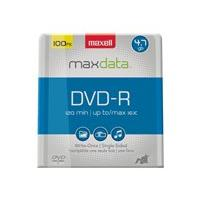 Maxell - DVD-R x 100 - 4.7 GB - storage media