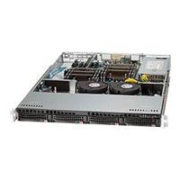 Supermicro SC813 T-600CB - rack-mountable - 1U - extended ATX  RM