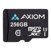 Axiom - flash memory card - 256 GB - microSDXC UHS-I