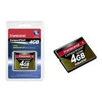 Transcend Ultra Speed Industrial - flash memory card - 4 GB - CompactFlash l PIO MODE (4GB) (write)