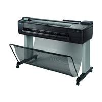 HP DesignJet T730 - large-format printer - color - ink-jet (English, French, Portuguese, Spanish / Canada, Latin America, United States)