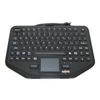Havis Rugged KB-108 - clavier - avec pavé tactile - US