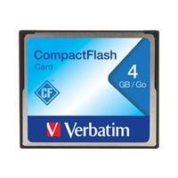 Verbatim - carte mémoire flash - 4 Go - CompactFlash