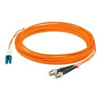AddOn 1m LC to ST OM1 Orange Patch Cable - patch cable - 1 m - orange