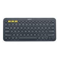 Logitech K380 Multi-Device Bluetooth Keyboard - clavier - noir