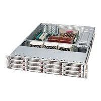 Supermicro SC826 E1-R800LPB - rack-mountable - 2U - extended ATX  RM