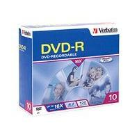 Verbatim - DVD-R x 10 - 4.7 Go - support de stockage (pack de 10)