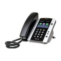 Polycom VVX 500 - VoIP phone - 3-way call capability