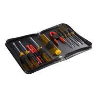 StarTech.com 11 Piece Computer Tool Kit - PC Repair Tool Kit with Zippered Vinyl Carrying Case (CTK200) tool kit
