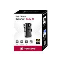Transcend DrivePro Body 20 - caméscope - mémoire flash interne