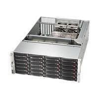 Supermicro SC846 BA-R1K28B - rack-montable - 4U - ATX étendu
