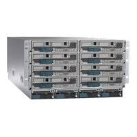 Cisco UCS 5108 Blade Server Chassis - rack-mountable - 6U - up to 8 blades  BLAD