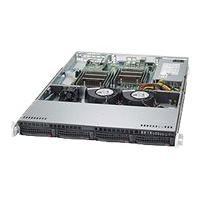 Supermicro SuperServer 6018R-TD - Montable sur rack - pas de processeur - 0 Go - aucun disque dur