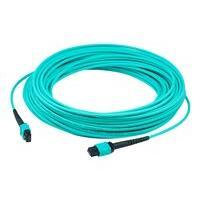 AddOn 30m MPO OM3 Aqua Patch Cable - patch cable - 30 m - aqua