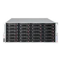 Supermicro SC847 A-R1K28WB - rack-mountable - 4U - enhanced extended ATX  RM