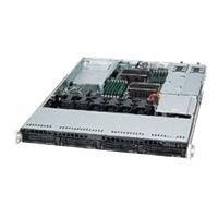 Supermicro SC815 TQC-R504WB - rack-mountable - 1U - extended ATX  RM