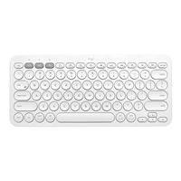 Logitech K380 Multi-Device Bluetooth Keyboard for Mac - clavier - blanc cassé