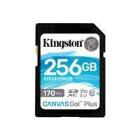 Kingston Canvas Go! Plus - carte mémoire flash - 256 Go - SDXC UHS-I