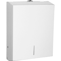 Genuine Joe C-Fold/Multi-fold Towel Dispenser Cabinet