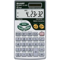 Sharp Calculators Sharp EL344RB Metric Conversion Calculator