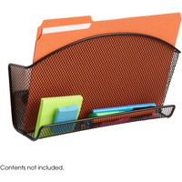 Safco Onyx Accessory Organizer Magnetic File Pocket