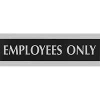 3X9 EMPLOYEES ONLY NOIR/GRIS