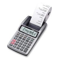 Casio HR8TM Large LCD Printing Calculator