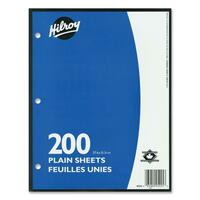 Hilroy Unruled Filler Paper