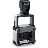 Trodat Heavy-Duty Self-Inking Dater Stamp
