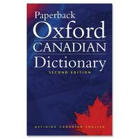 Oxford University Press Paperback Oxford Canadian Dictionary Second Edition Printed Book by Katherine Barber