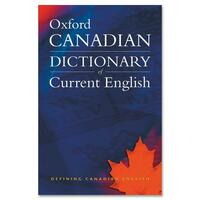 Oxford University Press Canadian Oxford Dictionary of Current English Printed Book by Katherine Barber, Tom Howell, Robert Pontisso