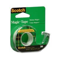 3M Scotch Magic Transparent Tape with Handheld Dispenser