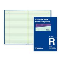 Blueline Accounting Book