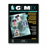 Gemex Trading Cards Page Holder
