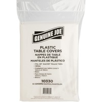 Genuine Joe Plastic Round Tablecovers