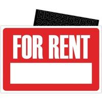 U.S. Stamp & Sign For Rent Sign Kit