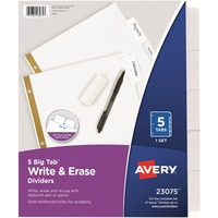 Avery® Big Tab Write & Erase Paper Dividers