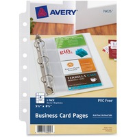 Avery Business Card Pages