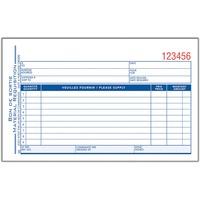 Adams Materials Requisition Form