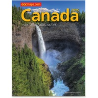 CCC Canada Road Atlas Printed Manual