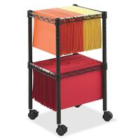 Safco 2-Tier Compact File Cart